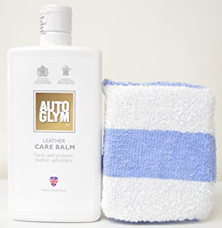Autoglym Leather Care Balm 500ml with Free Applicator