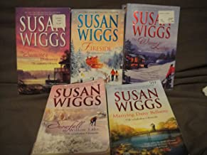 Susan Wigg's Lakeshore Chronicles book set: The Summer Hideaway/Fireside/The Winter Lodge/Snowfall at Willow Lake/Marrying Daisy Bellamy