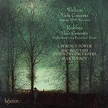 Walton: Viola Concerto; Rubbra: Viola Concerto