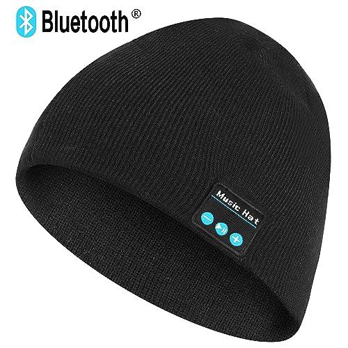959c8f9ce Unisex Bluetooth Beanie Hat V4.2 Wireless Headphone Capw Stereo Speakers    Mic