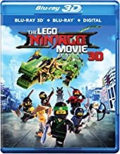 Lego Ninjago Movie, The (3DBD)