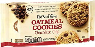 Red Oval Farms Oatmeal Chocolate Chip Cookies, 10.75 Ounce, 12 Count