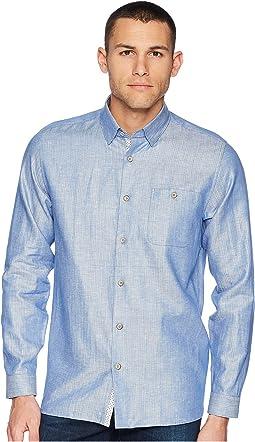Linlins Long Sleeve Linen Woven Shirt