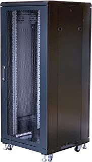 Raising Electronics 27U Rack Mount Server Networks Data Rack Cabinet 21 inch (600mm) Deep