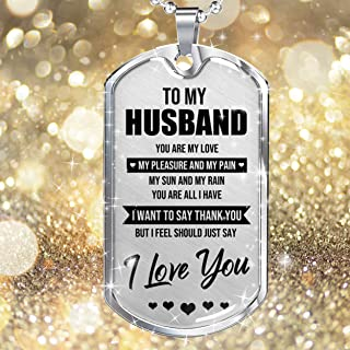 YF to My Husband My Pleasure and My Pain Silver