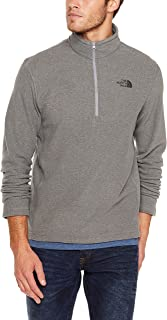The North Face Men's M TKA 100 GLR 1/4 ZP TNF Medium Grey Heather