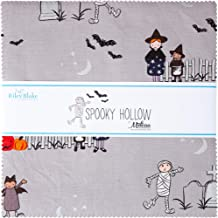 """Melissa Mortenson Spooky Hollow 10"""" Stacker 42 10-inch Squares Layer Cake Riley Blake 10-10570-42"""