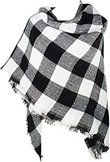 Best black and white blanket scarf outfit Reviews