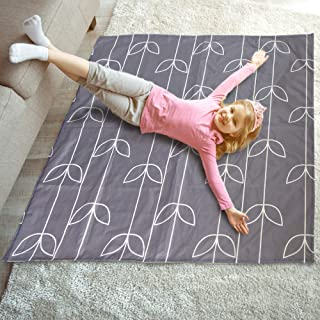 "51"" Splat Mat Under High Chair, Non Slip Under High Chair Mat, Washable High Chair Splash Mat"