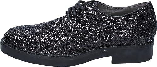 Janet & Chaussures élégantes Femme Glitter Glitter Glitter Noir 967