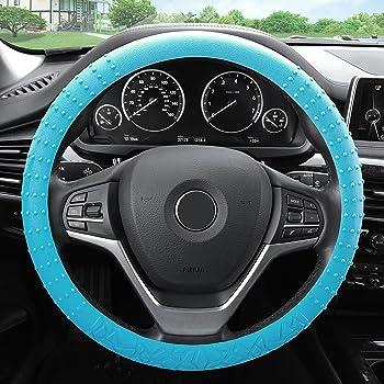 Bell Automotive 22-1-97595-9 Universal Neoprene Bling Teal Steering Wheel Cover