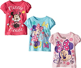 Girls' Minnie Mouse 3-Pack T-Shirts