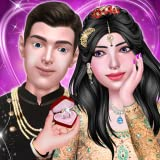Indian Girl Engagement & Royal Pre-Wedding Rituals - Live Golden Period of Life - Romantic Love Crush Game