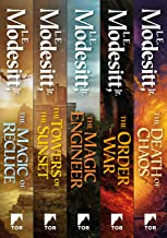 Saga of Recluce: Books 1-5: The Magic of Recluce, The Towers of the Sunset, The Magic Engineer, The Order War, The Death of Chaos