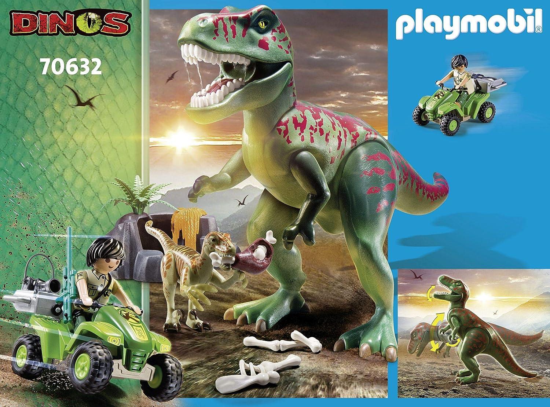 Playmobil 70327 Dinos XXL T-Rex Dinosaurier mit Vulkanausbruch und Figuren NEU