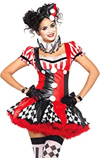 harlequin fancy dress costume