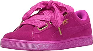 PUMA Women's Suede Heart Satin Wn's Fashion Sneaker