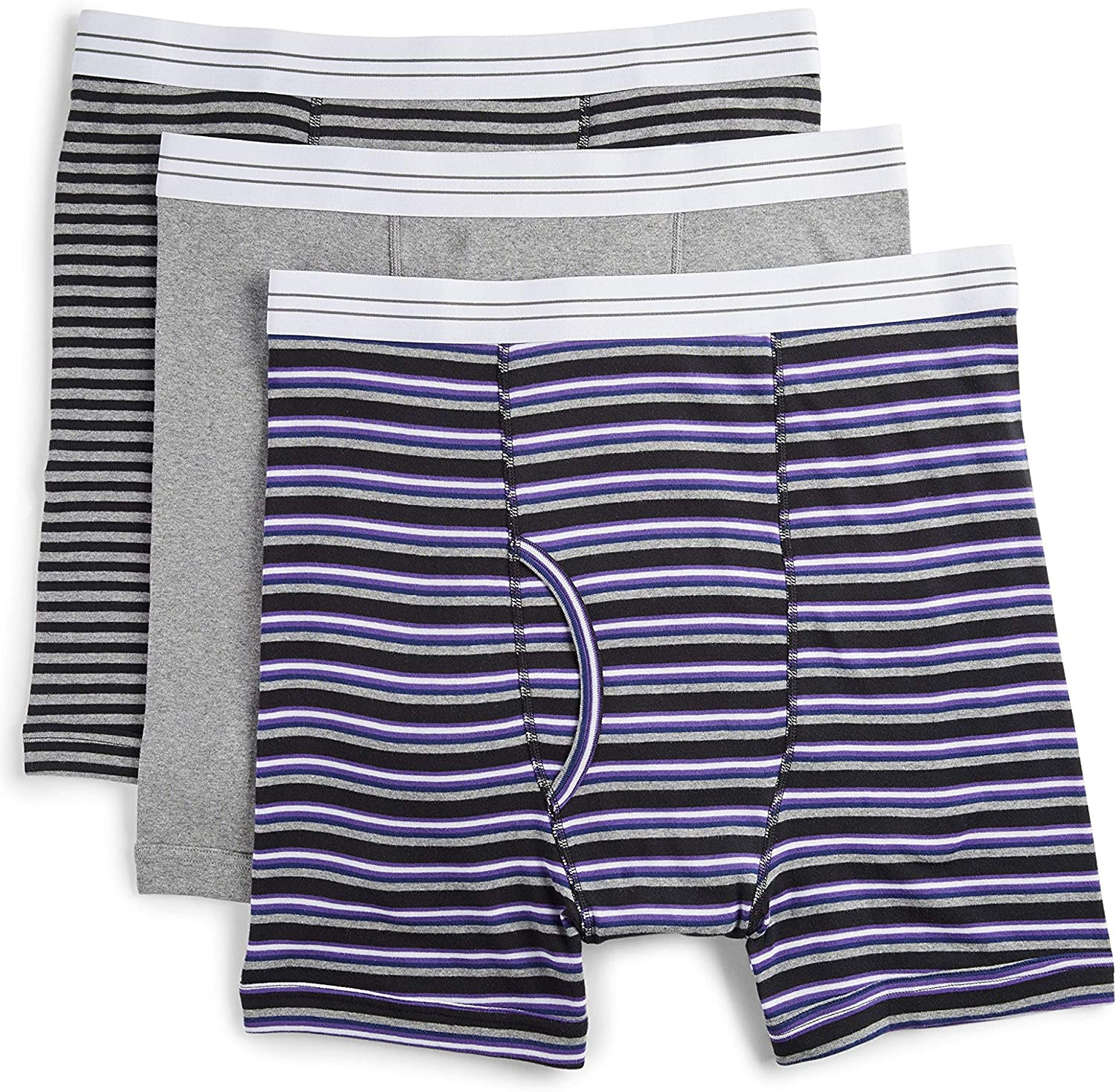 Harbor Bay by DXL Big and Tall 3-Pack Assorted Boxer Brief