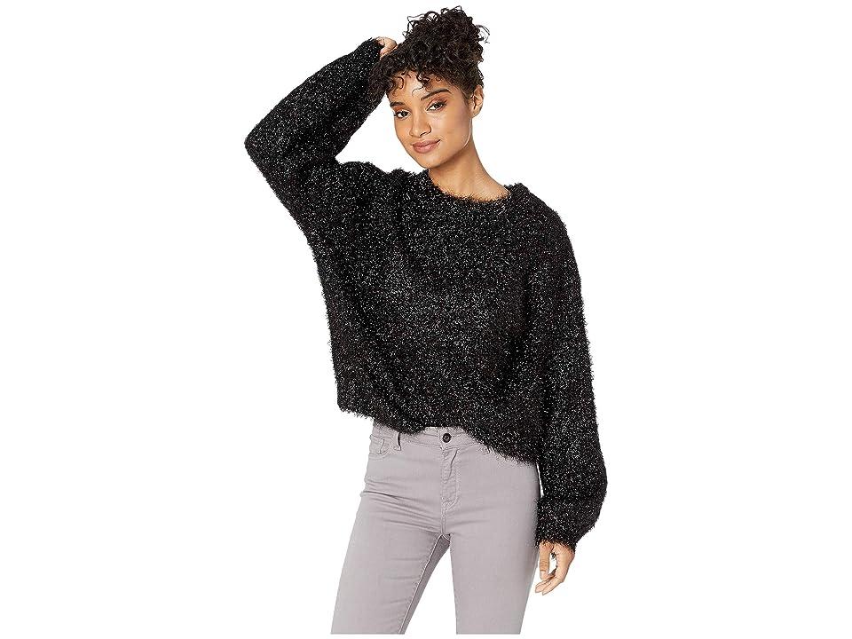 J.O.A. - J.O.A. Blouson Sleeve Metallic Sweater