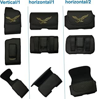 usastar-SNK Premium 3D Design Pouch Case with Belt Clip for Medtronic Minimed Insulin Pump 530G/ 630G/ 640G/ 670G (US Version) (EG/Copper, Horizontal/2)