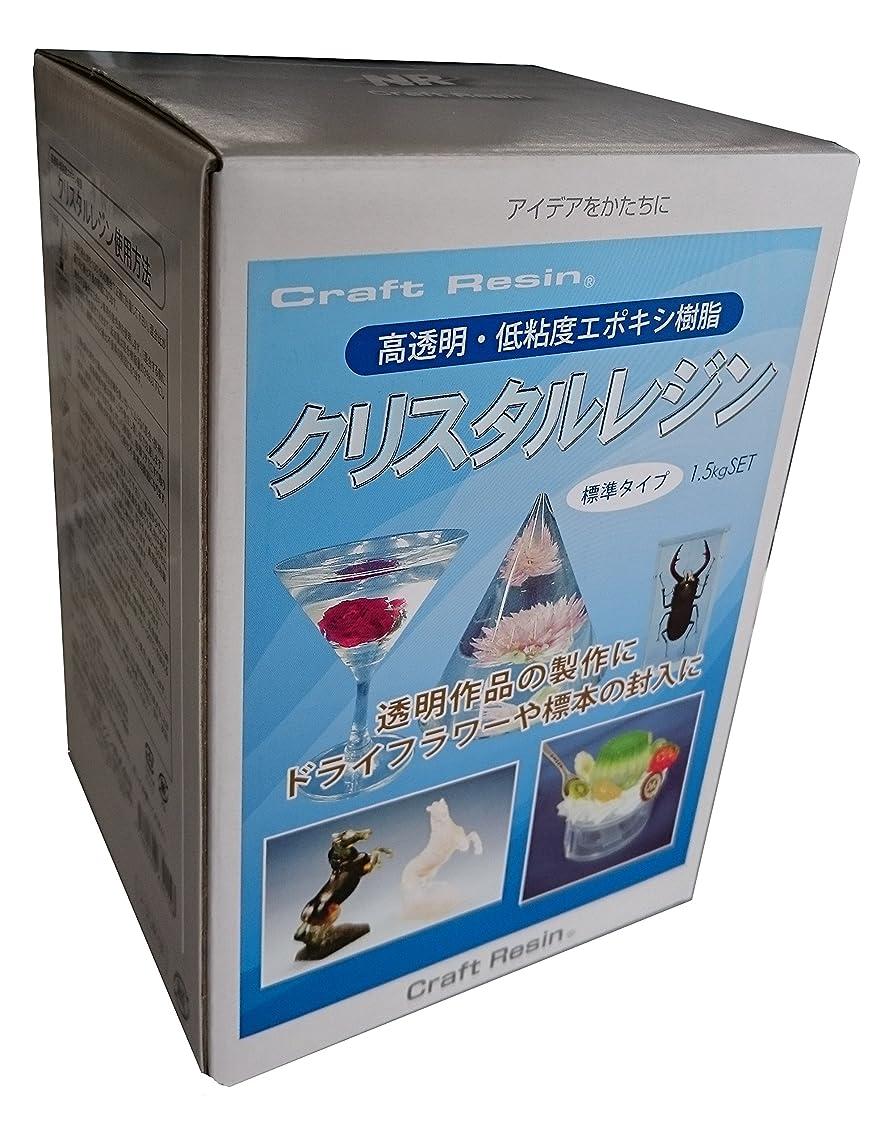 満足させるによるとコンベンション日新レジン クリスタルレジン 1.5kgセット