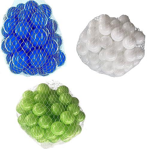 6000 B e für B ebad gemischt mix mit hellGrün, Weißund blau