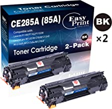 Compatible 2-Pack 85A CE285A Toner Cartridge for HP P1100 P1102W Pro M1132 M1210 M1212nf M1214nfh M1217nfw M1219nf Printer (2xBlack), by EasyPrint