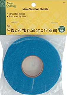 Dritz Quilting 3350 Make Your Own Chenille, 20-Yards, Aqua