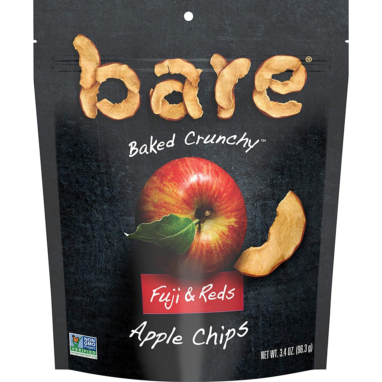 cheap Bare Fruit Max 43% OFF Naturally Baked Crunchy 3.4 Apple Chips Fuji Reds
