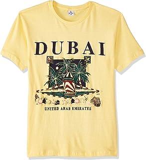 Dubshi D80 Men's Dubai T-shirt, Yellow