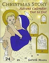 Christmas Story: Advent Calendar Dot to Dot