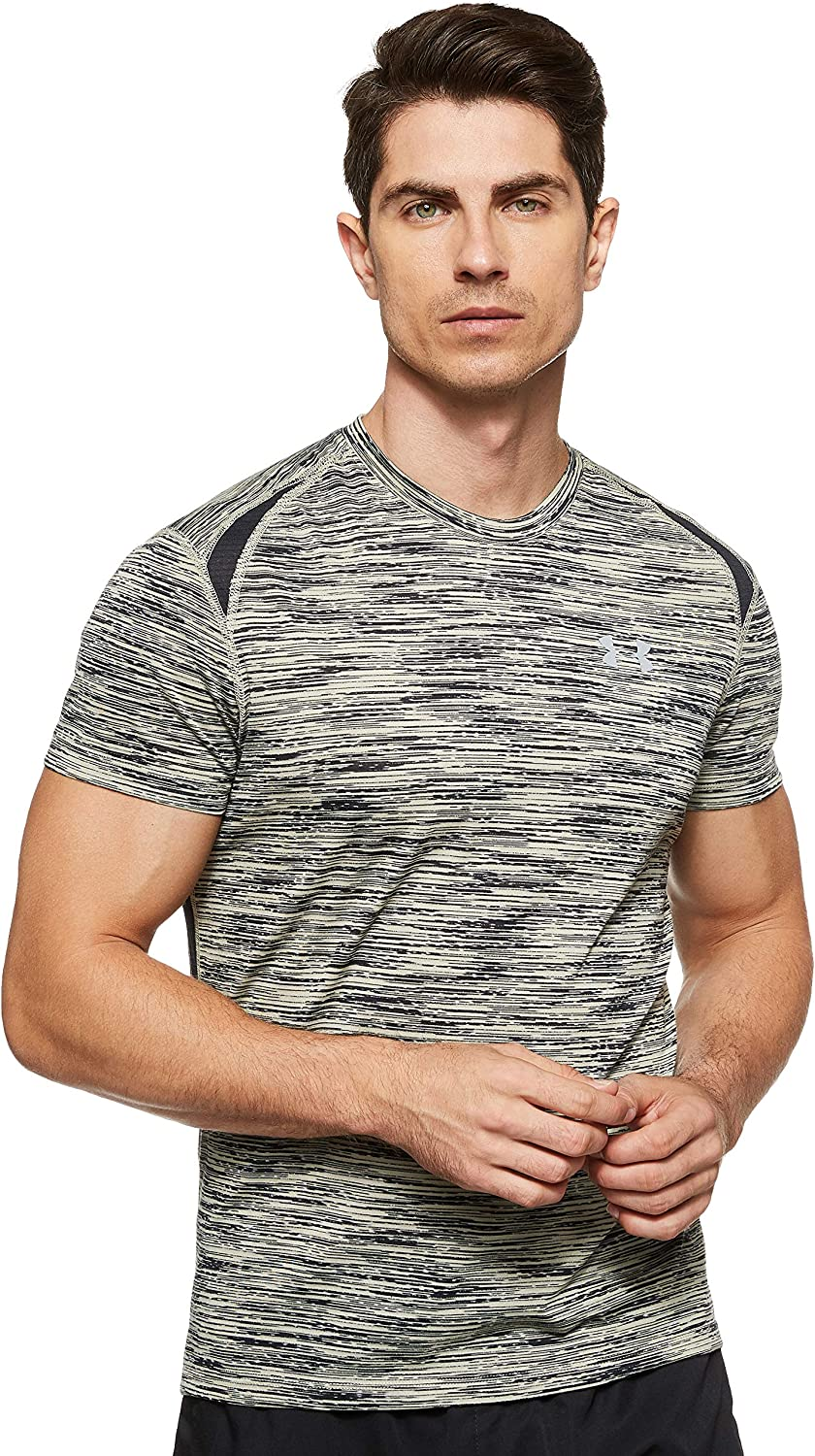 Under Armour Men's Streaker 2.0 It is very Fashionable popular T-Shirt Time Lapse Short-Sleeve