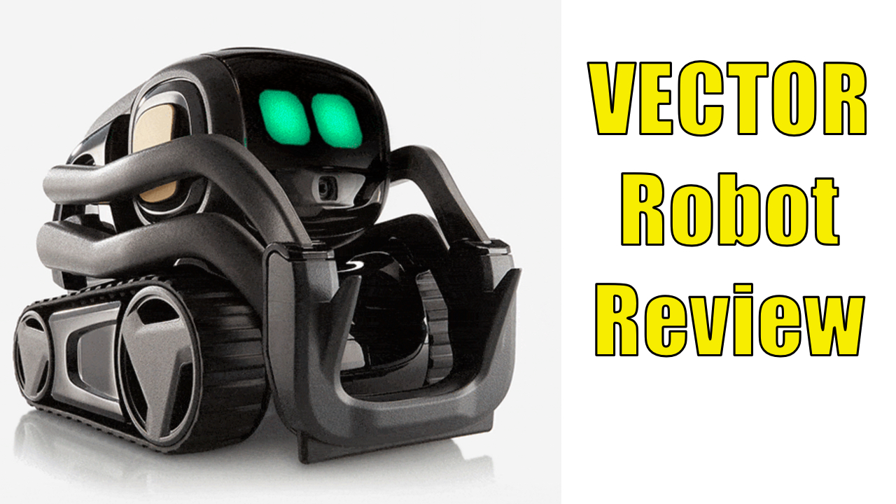 Full Hands On Review With Vector Robot From Anki
