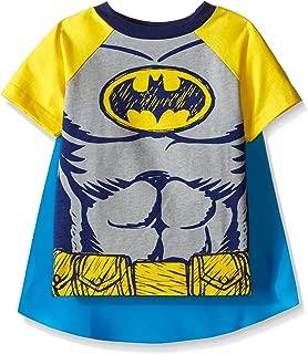 Toddler Boys Batman Cape T-Shirt Set Yellow 4T