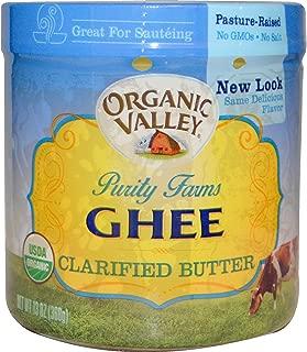 Organic Valley Purity Farms, Organic, Ghee, Clarified Butter, 13 oz (368 g) - 2pcs