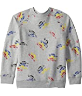 Stella McCartney Kids - Billy Long Sleeve All Over Cars Fleece Sweater (Toddler/Little Kids/Big Kids)