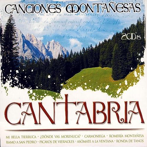 Canciones Montañesas De Cantabria de Various Artists en ...