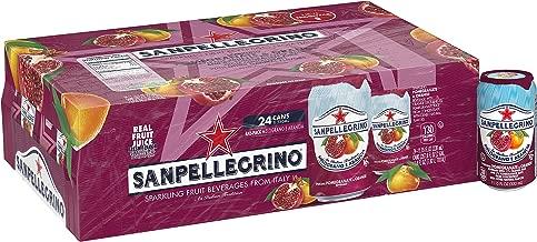 Sanpellegrino Pomegranate and Orange Sparkling Fruit Beverage, 11.15 Fl. Oz Cans (24 Pack)