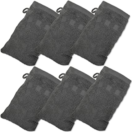 """Bath Mitts - Pack of 6 (6"""" x 9"""")"""