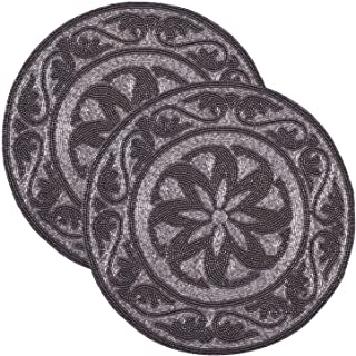 Best pewter beaded placemats Reviews