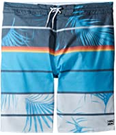 Billabong Kids - Spinner LT Print Boardshorts (Big Kids)