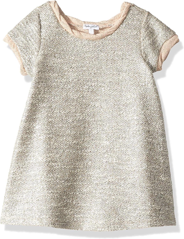 Splendid 2021 new Super beauty product restock quality top! Girls' Big Slub Jersey Dress Raglan Short Sleeve