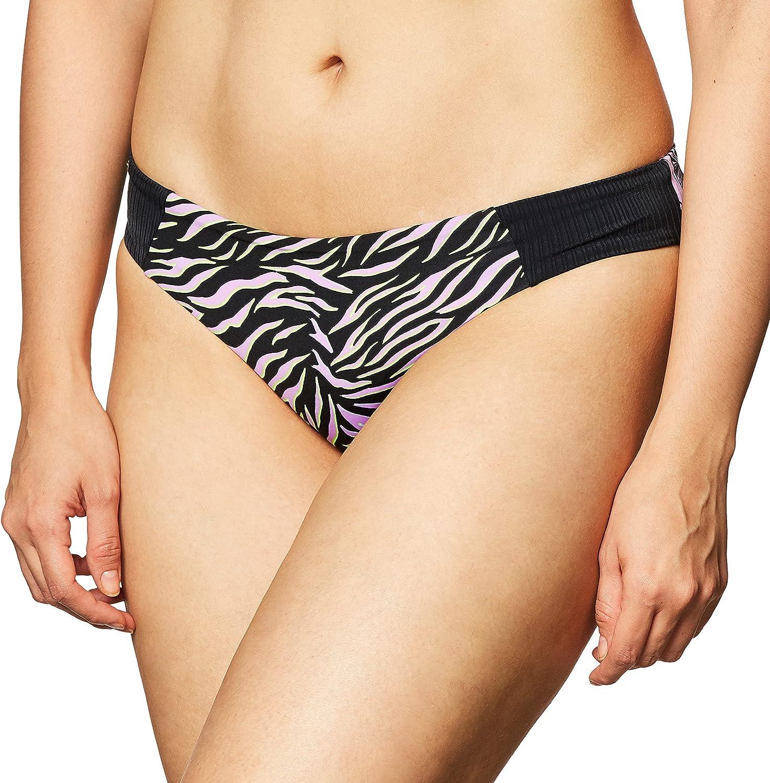 Maaji Women's Standard Black Ballad Docks Bikini Tab Side Cheeky Cut