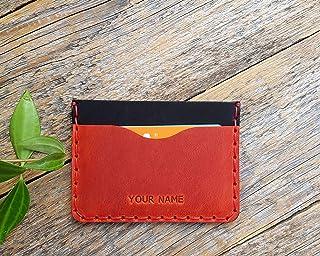 Rotes und schwarzes Leder Ausweishülle, Portemonnaie, langlebige Aufbewahrung von Kreditkarten und Banknoten. Geldbörse, P...