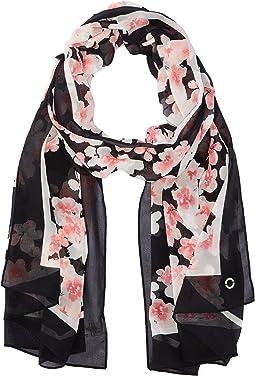 Calvin Klein - Diagonal Floral Chiffon