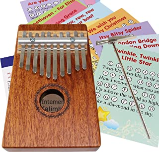Kalimba for Kids with 20+ Easy Play Songs for Beginners - Thumb Piano 10 keys