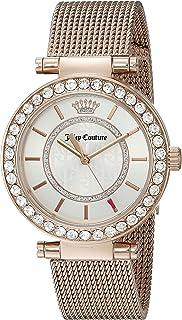 Juicy Couture Women's 1901374 Cali Analog Display Japanese Quartz Rose Gold Watch
