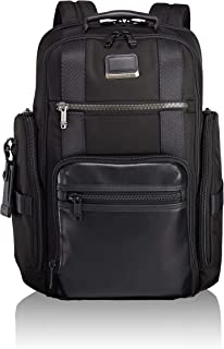 Alpha Bravo Sheppard Deluxe Brief Pack Laptop Backpack - 15 Inch Computer Bag for Men and Women - Black