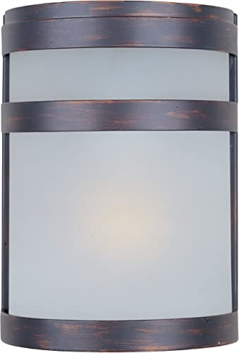 wholesale Maxim 5000FTOI, outlet online sale Arc Outdoor Wall Sconce, 60 sale Total Watts, Oil Rubbed Bronze outlet sale