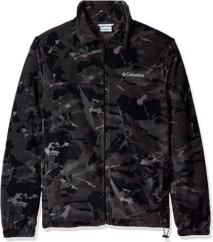 Columbia Hommes's Big and Tall Cascades Explorer Full Zip Fleece veste, noir boissy, petit